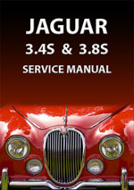Jaguar S Type 3.4 & 3.8 1963-1968  Workshop Manual