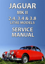 Jaguar 2.4, 3.4, 3.8 Mark 2 Workshop Manual