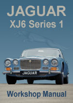 Jaguar XJ6 2.8 & 4.2  Series 1 Workshop Manual