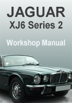 Jaguar XJ6 Series 2 Workshop Manual