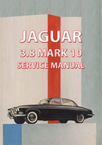 Jaguar Mark 10 3.8L Workshop Manual