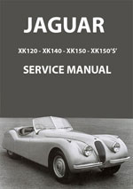 Jaguar XK120, XK140, XK150 Workshop Manual